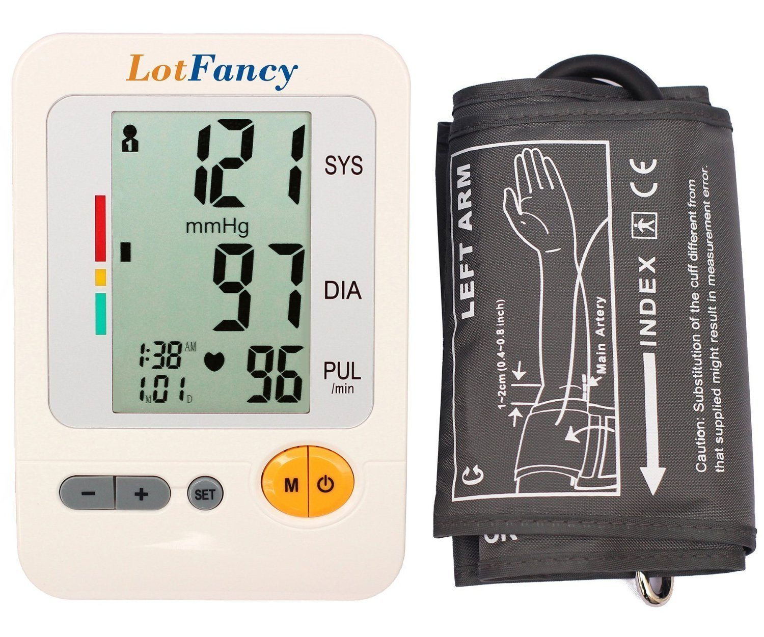 LotFancy Blood Pressure Monitor