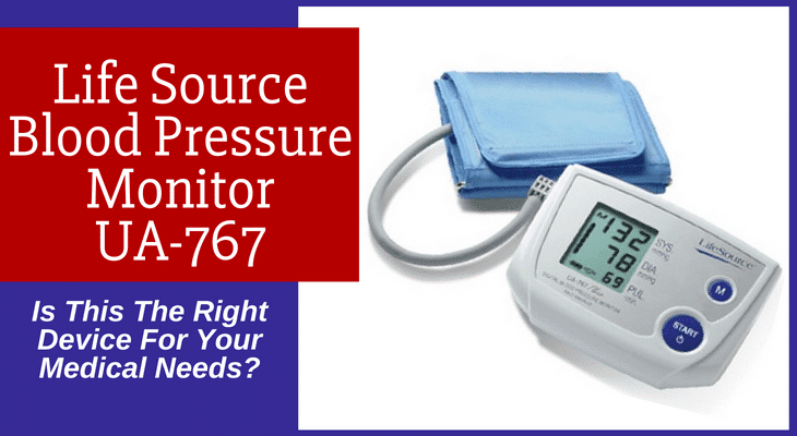 Life Source Blood Pressure Monitor UA-767